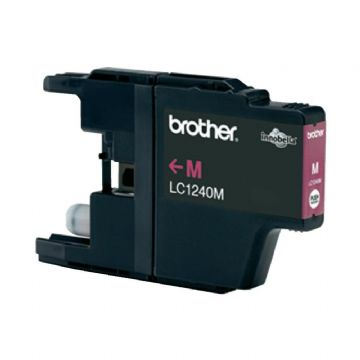 Brother LC1240M Magenta Refurbished Ink Cartridge (LC-1240M Inkjet Printer Cartridge)